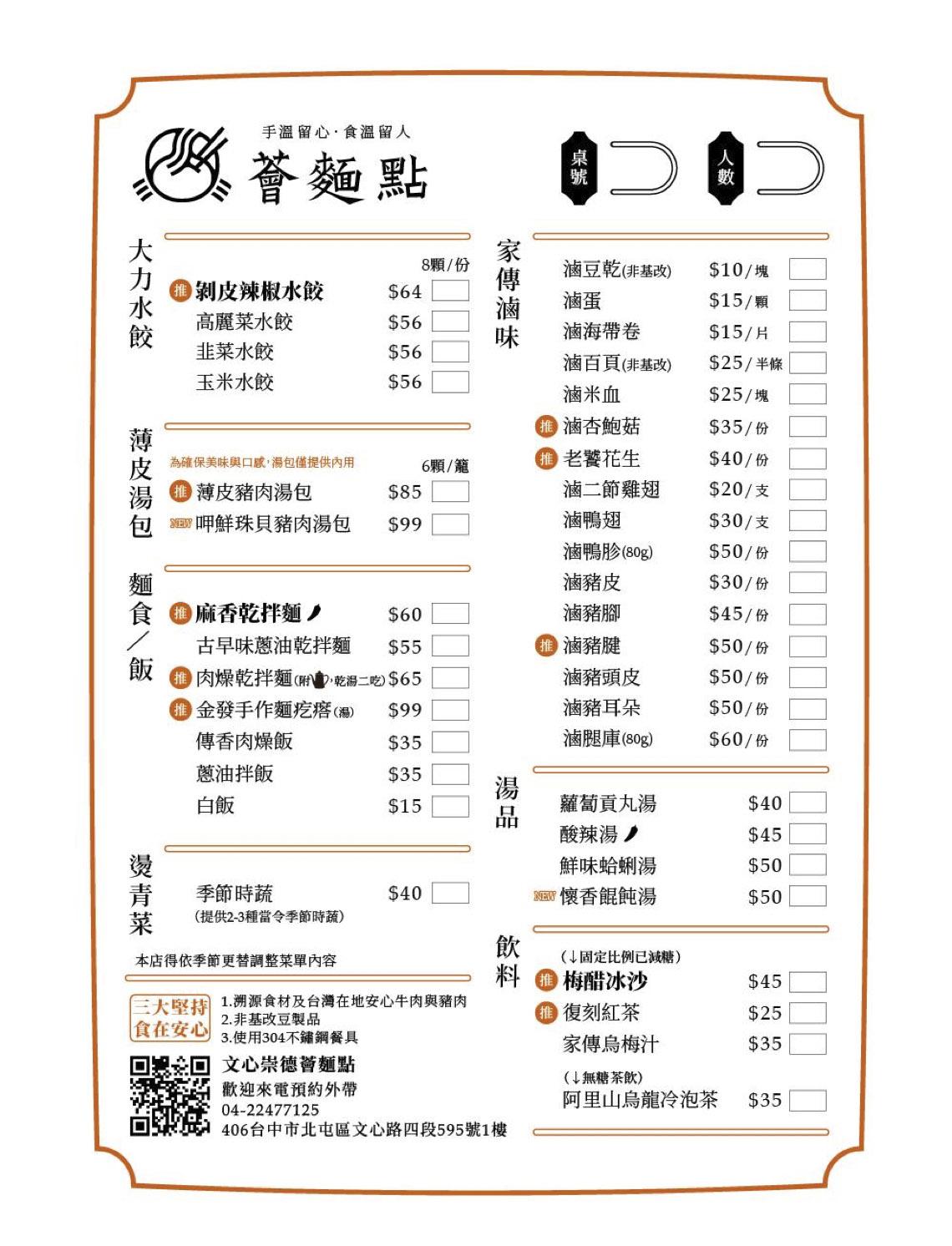薈麵點 部落客合作-餐廳與餐點介紹01